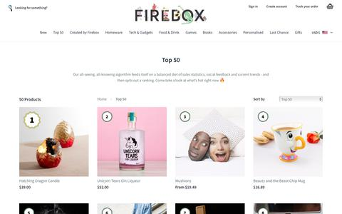 Top 50 | FIREBOX