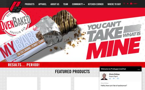 ProSupps USA - Sports Nutrition Products and Supplements