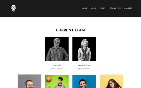Screenshot of Team Page firnw.com - Family Tree — FIR Northwest - captured Jan. 9, 2018