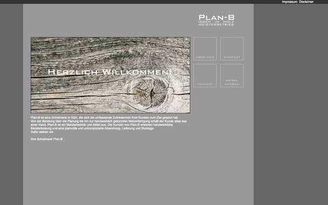 Screenshot of Home Page plan-b-koeln.de - Plan-B-Koeln.de: Intro - captured Oct. 19, 2015
