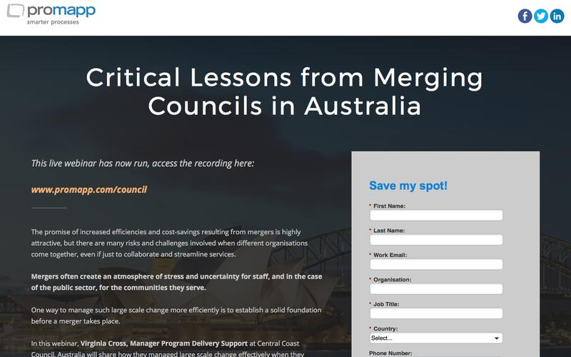 Webinar: Critical Lessons from Merging Councils in Australia