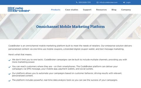 Omnichannel Mobile Marketing Platform - Codebroker