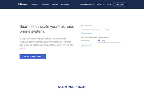 Manage Your Business Phone System with Executive Admin Capabilities | Dialpad