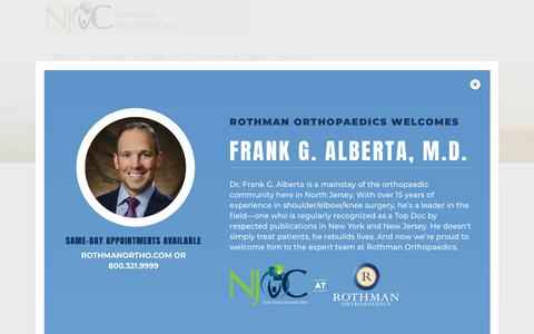 Screenshot of Hours Page njorthoclinic.com - Office Hours and Policy Information | North Jersey Orthopaedic Clinic - captured Nov. 15, 2018