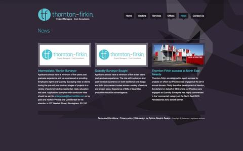 Screenshot of Press Page thorntonfirkin.com - Thornton Firkin - captured Oct. 9, 2014