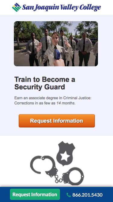 Train to Become a Security Guard   SJVC