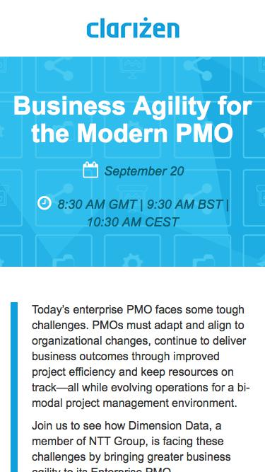 Business Agility for the Modern PMO