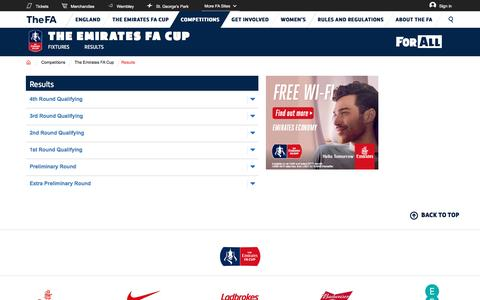 The website for the English football association, The FA Cup and The England football team - Competitions | The FA