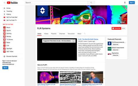 FLIR Systems  - YouTube