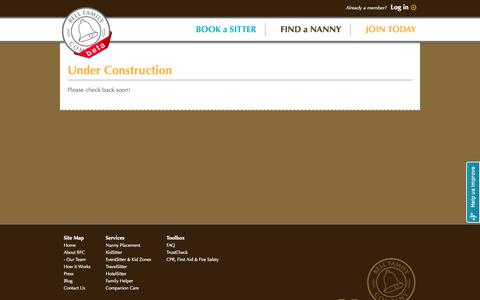 Screenshot of Site Map Page bellfamilycompany.com - Bell Family Company - captured Oct. 4, 2014