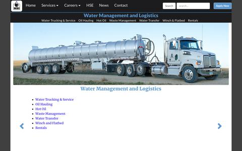 Screenshot of Team Page mbienergyservices.com - Water Management and Logistics | MBI Energy Services - captured July 25, 2018
