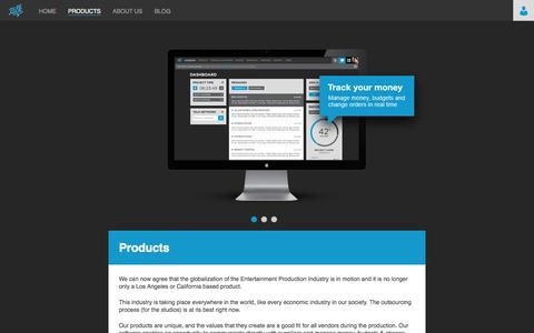 Screenshot of Products Page talkmgmt.com - Products | Talk Management System - captured Oct. 27, 2014