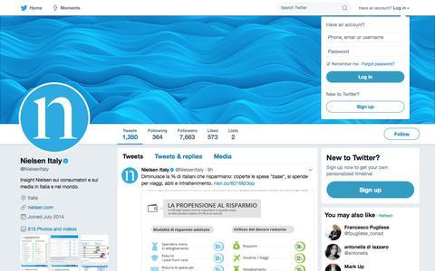 Nielsen Italy (@NielsenItaly) | Twitter
