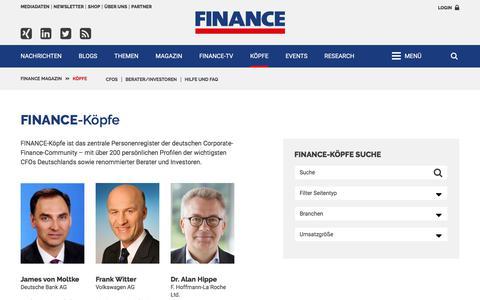 Köpfe-FINANCE Magazin-FINANCE Köpfe