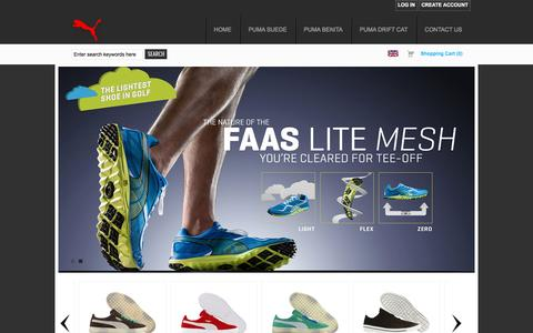 Screenshot of Home Page graf-ia.com - Puma Online Shopping at Prices you Love & Free Shipping - captured May 25, 2017