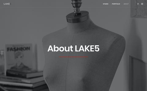 Screenshot of About Page lake5.eu - About us | LAKE5 Consulting GmbH - captured Sept. 25, 2018