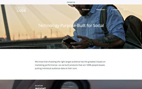 Products - SocialCode
