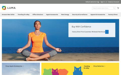Screenshot of Home Page bestmustbuy.com - BMB Wholesale - captured Oct. 21, 2017