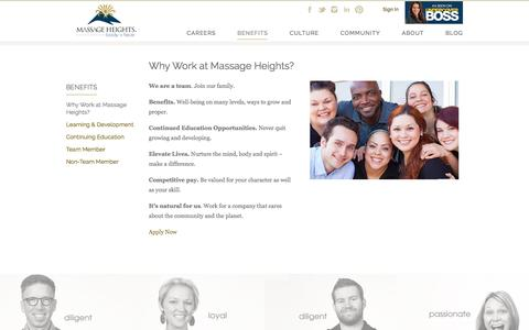 Why Work at Massage Heights? | Massage Therapist Career | Massage Heights Careers