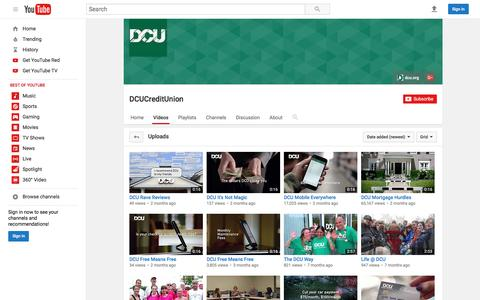DCUCreditUnion  - YouTube
