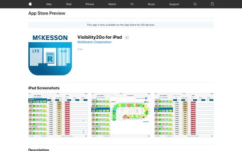 Visibility2Go for iPad on the AppStore