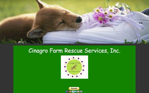 Screenshot of Login Page cinagrofarm.com - Login - captured Nov. 1, 2014