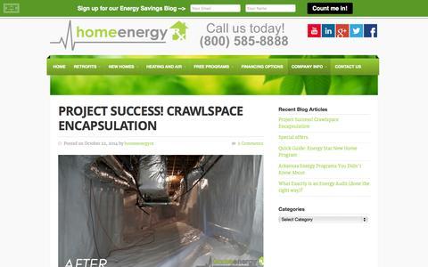 Screenshot of Blog homeenergyrx.com - Energy Savings Blog at Home Energy Rx - Written by Experts - captured Oct. 28, 2014