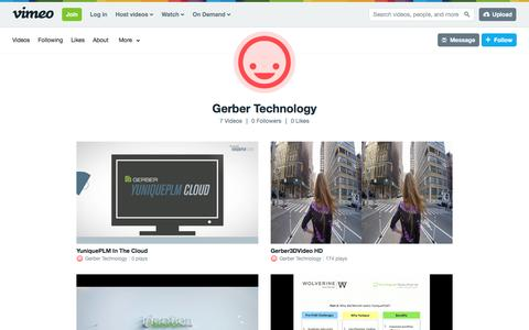 Gerber Technology on Vimeo