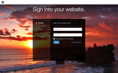 Screenshot of Login Page drgok.com - Delaware Resource Group :: Login - captured Dec. 10, 2015