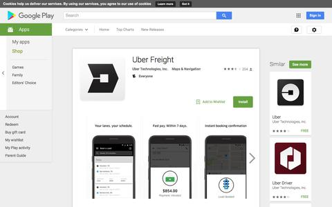 Uber Freight - Android Apps on Google Play