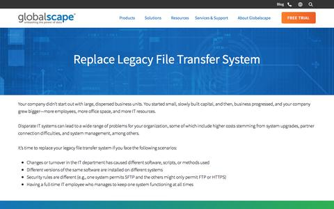 Lower Costs - Consolidate File Servers | Globalscape