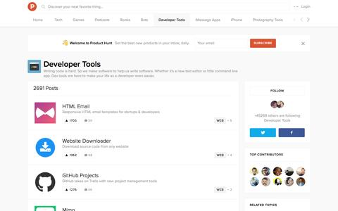 Developer Tools - Product Hunt