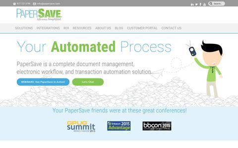 Document Management | Electronic Workflow | Transaction Automation
