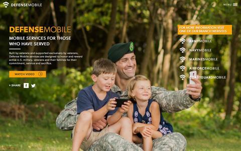 Screenshot of Press Page defensemobile.net - DEFENSE MOBILE - captured Sept. 13, 2014