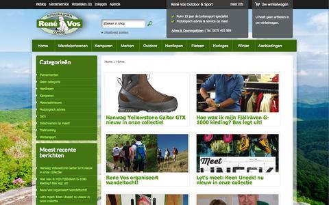 Screenshot of Blog rene-vos.nl - Rene-Vos - captured Aug. 16, 2015