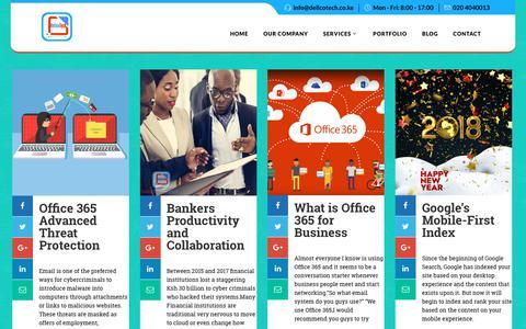 Screenshot of Blog dellcotech.co.ke - Bulk SMS Services in Kenya | Dellco Technologies Ltd - captured Oct. 8, 2018