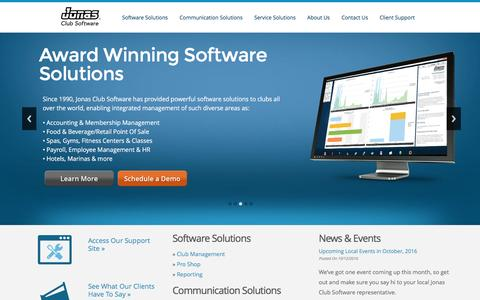 Jonas Club Software -  Enterprise Management Software for Private and Public Clubs