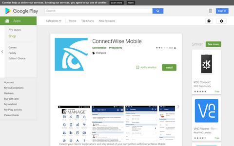 ConnectWise Mobile - Apps on Google Play