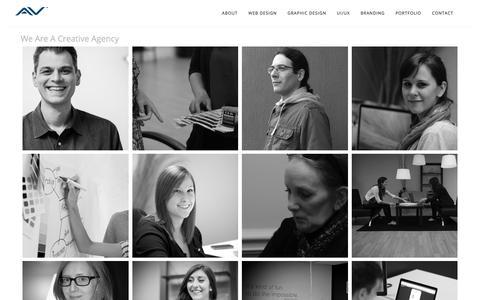 Screenshot of About Page artversion.com - ArtVersion Creative Agency: Chicago + Portland - captured June 25, 2017