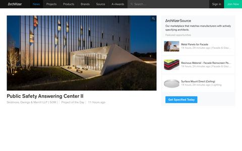 Architizer: Architects, Buildings and Building Products