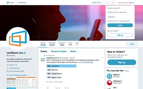 comScore, Inc. (@comScore) | Twitter