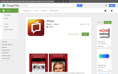 Allego - Apps on Google Play