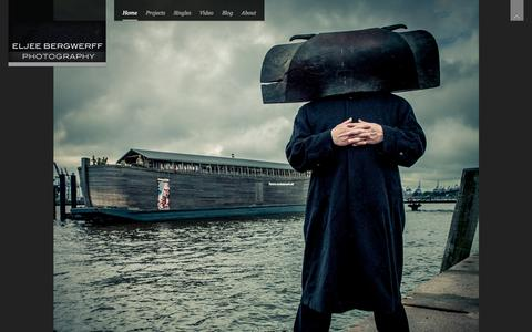 Screenshot of Home Page eljee.nl - Eljee Bergwerff Photography | work by a dutch photographer - captured Oct. 6, 2014