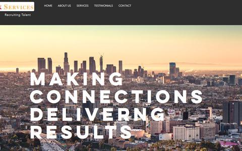 Screenshot of Home Page sanlink.net - sanlink - captured Sept. 27, 2017