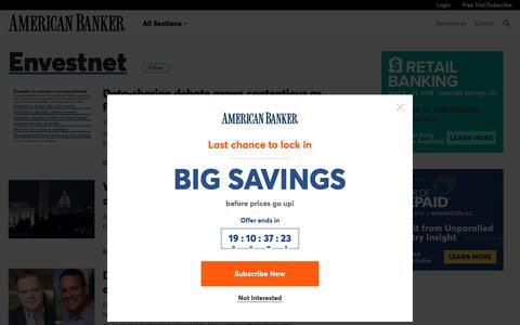 Envestnet  | American Banker