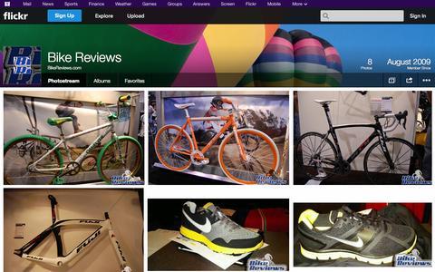 Screenshot of Flickr Page flickr.com - Flickr: BikeReviews.com's Photostream - captured Oct. 25, 2014