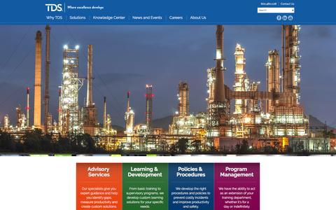 Screenshot of Home Page tdshou.com - Where Excellence Develops - TDShou.com - captured Feb. 16, 2016
