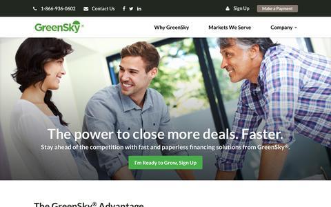 GreenSky | Home Improvement Finance