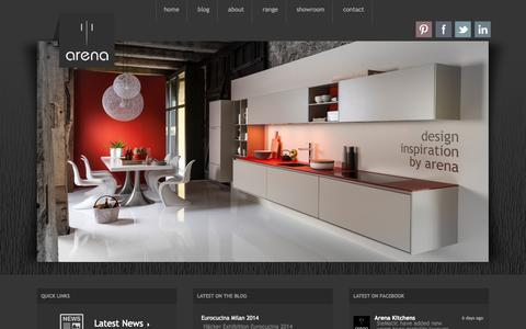 Screenshot of Home Page arenakitchens.com - Arena Kitchens | Arena Kitchens - captured Sept. 30, 2014