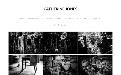 Screenshot of Home Page format.com - Catherine Jones - Gallery 1 - captured May 8, 2016